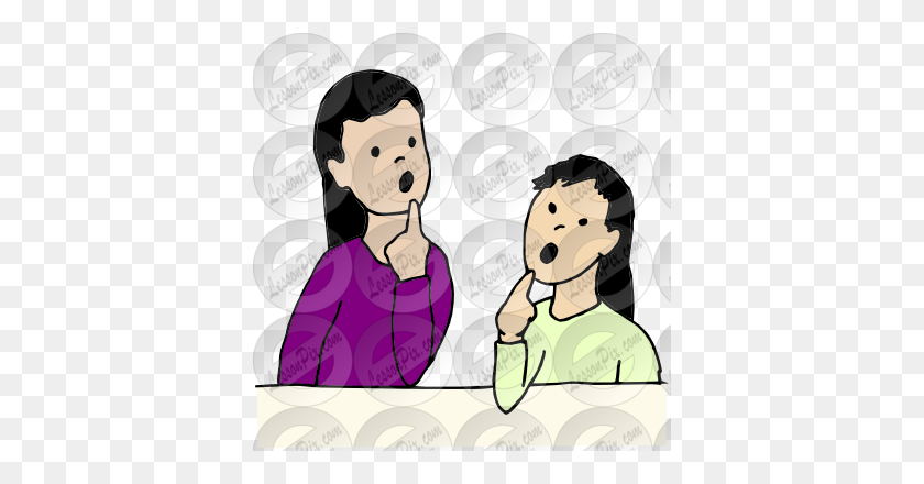 Speech Therapy Picture For Classroom Therapy Use - Speech Therapy Clip Art