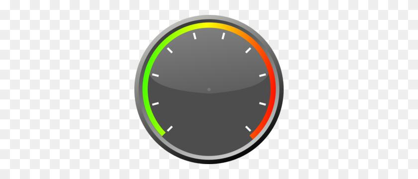 300x300 Speedometer Clipart Blank - Tachometer Clipart
