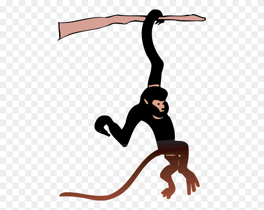 Spider Monkey Clip Art - Monkey Clipart Images