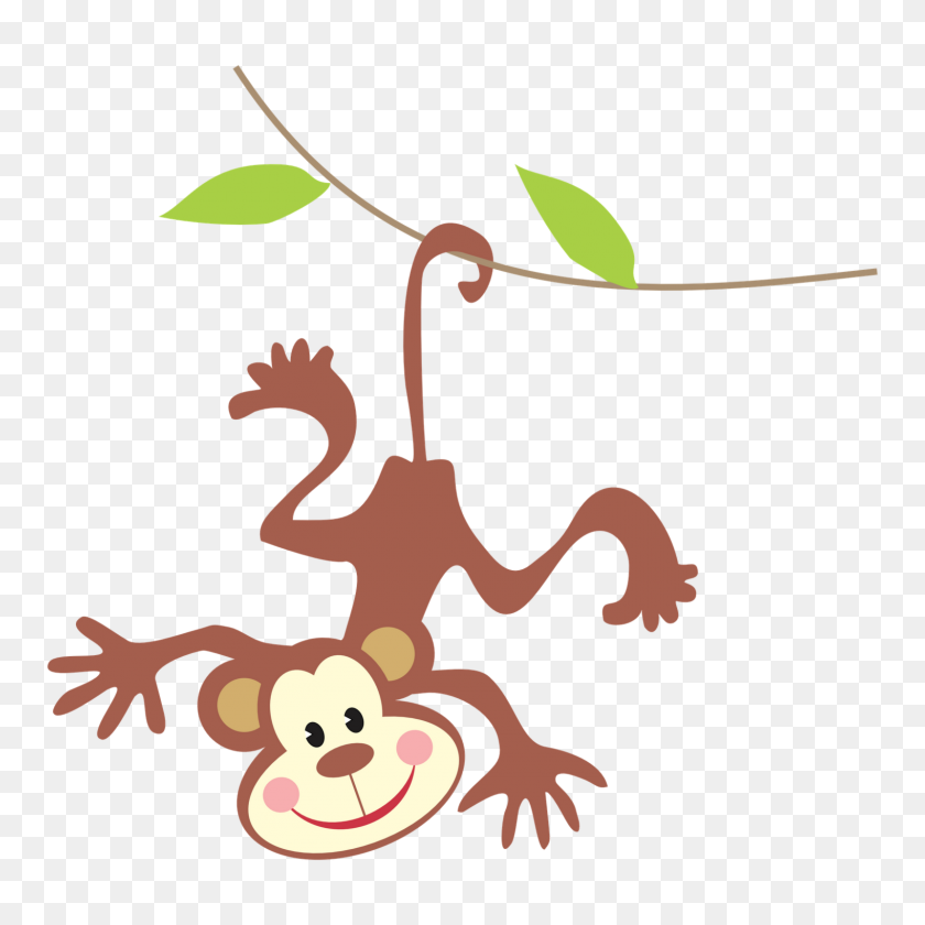 Spider Monkey Clipart Teacher - Pilates Clipart
