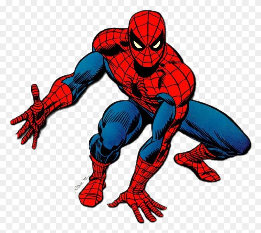 Spiderman Superheros - Spiderman Clipart PNG