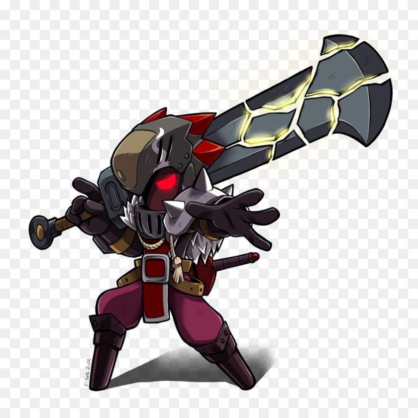 Spiral Knights Sonic And The Black Knight Character Art Video Game - Black Knight PNG