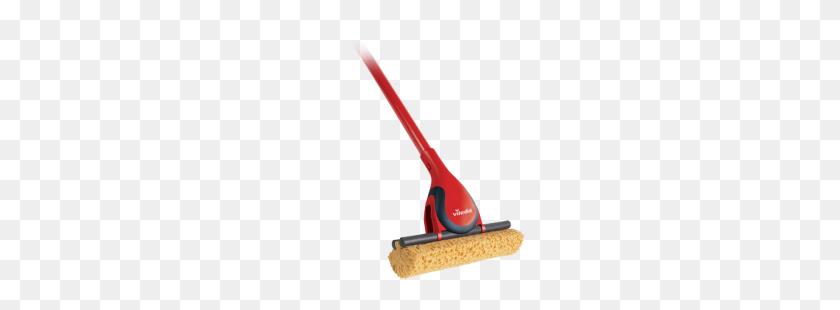 Sponge Mops Vileda - Mop PNG