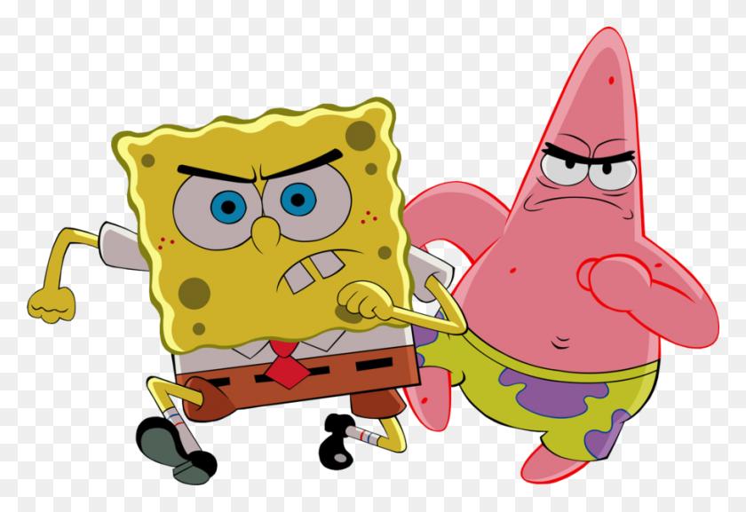 Spongebob Patrick - Spongebob And Patrick PNG