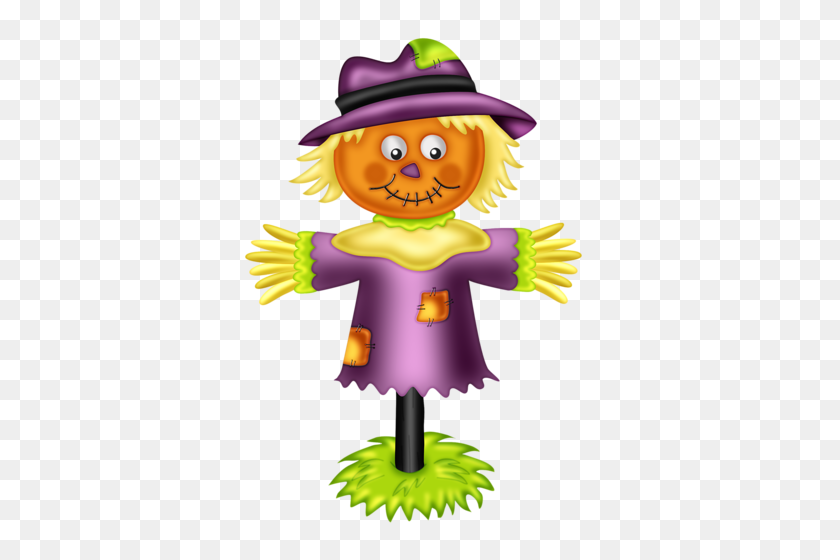 Spooktacular Prentjes Scarecrows, Clip Art - Scarecrow Hat Clipart