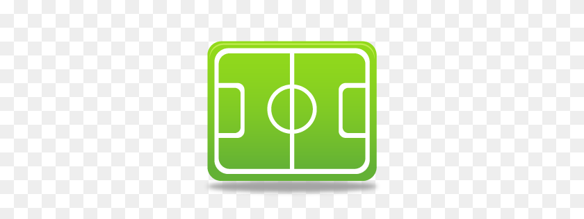 Sport Football Pitch Icon - Football Field PNG
