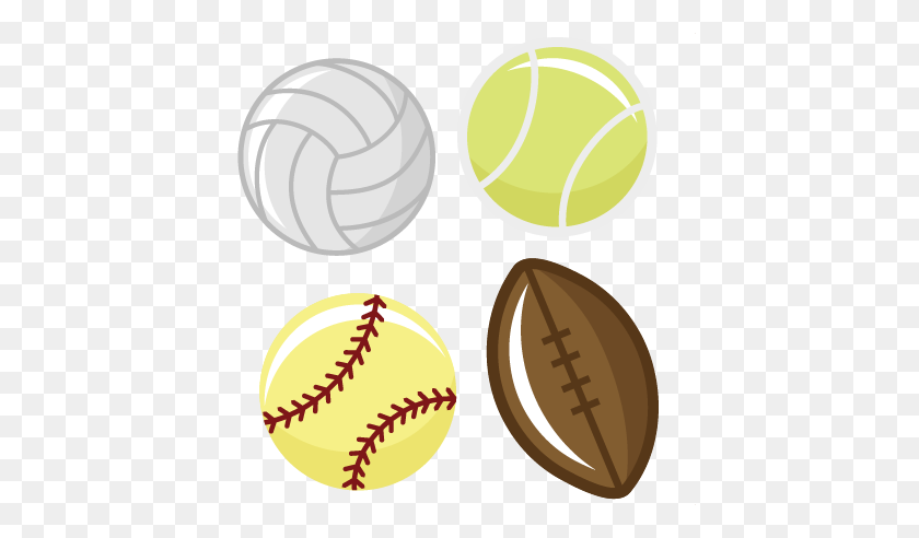 Sports Balls Tennis Ball Football - Volleyball Ball Clipart