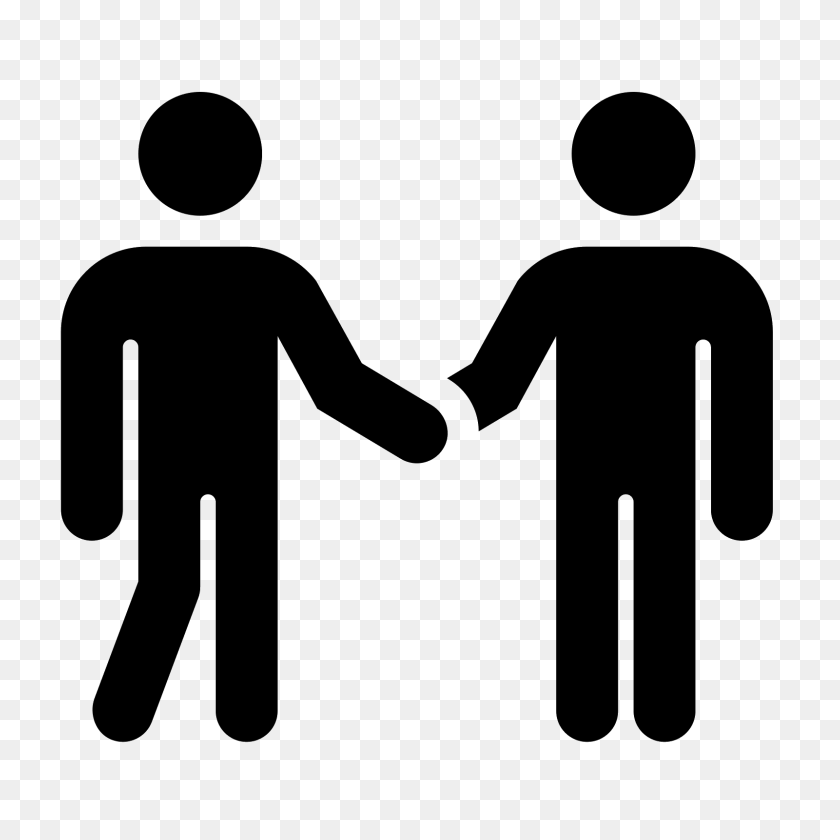 Spotkanie Icon - Shaking Hands PNG