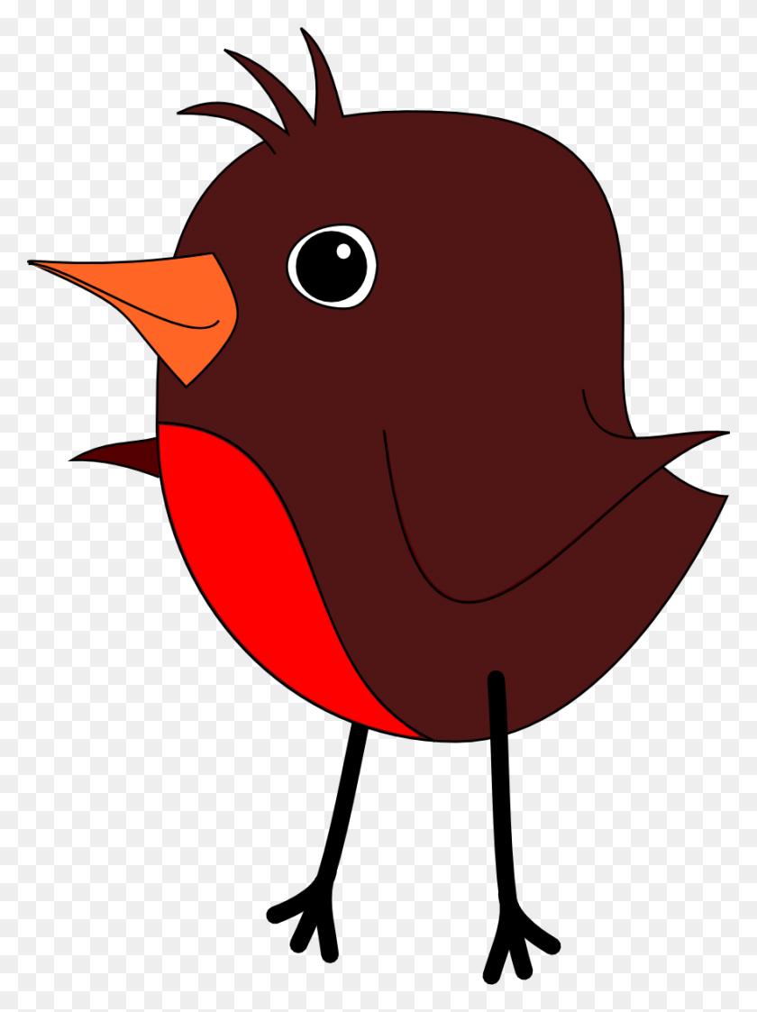 Spring Clipart Robin - Bird Watching Clipart