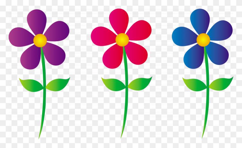 Spring Flower Border Clip Art Free Spring Flowers Clip Art - Spring Time Clipart