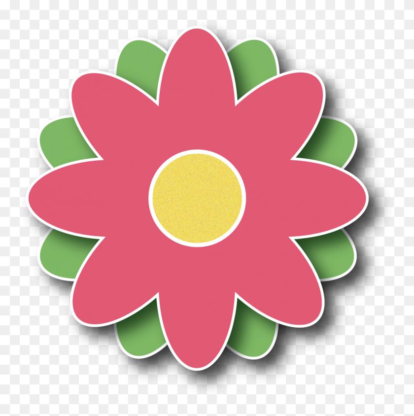 Spring Flower Clipart - Spring Flower Border Clipart