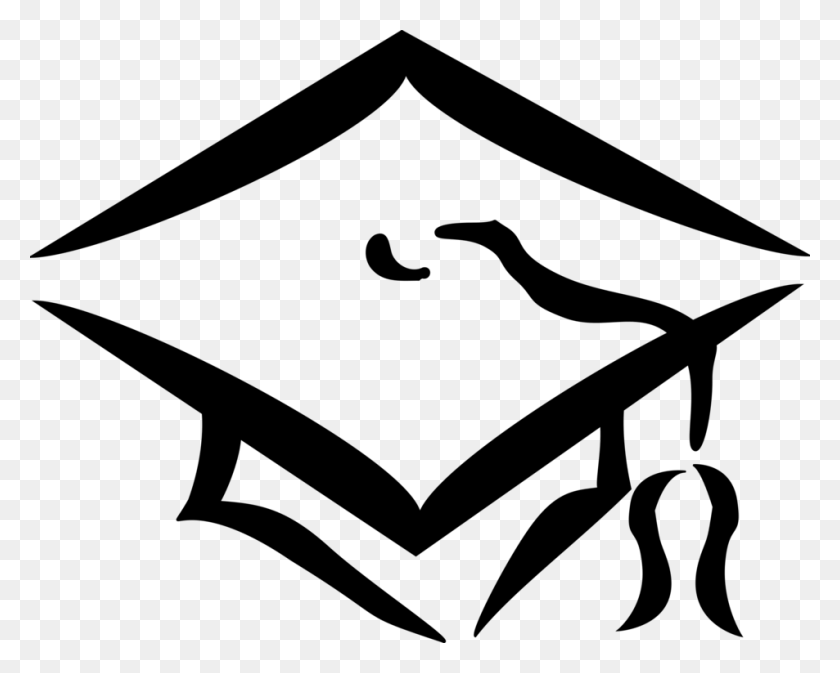 Square Academic Cap Graduation Ceremony Academic Dress Hat Free - White Graduation Cap Clipart