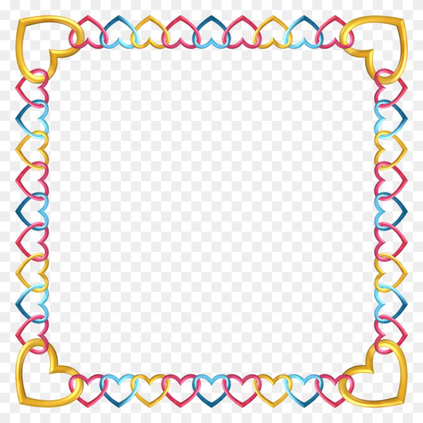 Square Frame Tropical - Tropical Border Clipart