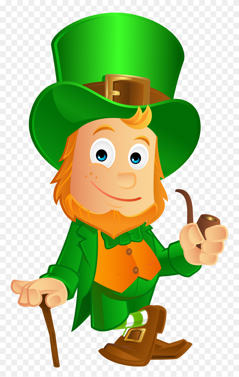 St Patrick S Day Leprechaun Clip Art - Picture Day Clipart