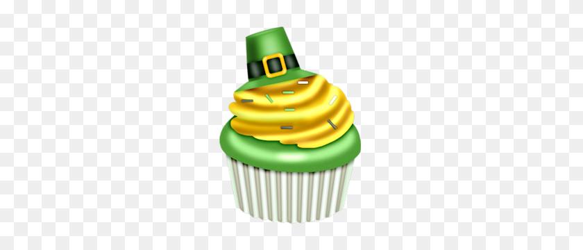 St Patrick's Day Cupcake Clip Art Clip Art - St Patrick Clipart