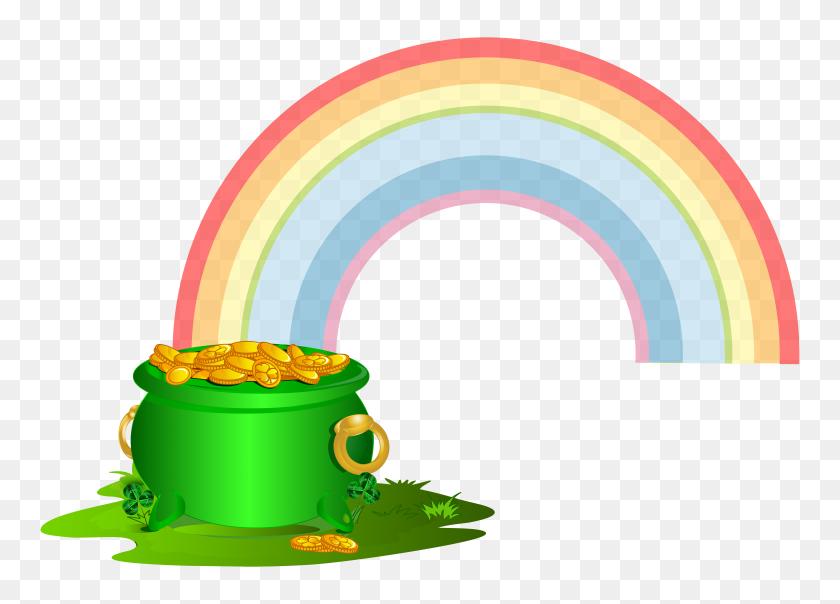 St Patricks Day Rainbow Clipart, Saint Patrick's Day Leprechaun - Free Clipart Saint Patricks Day