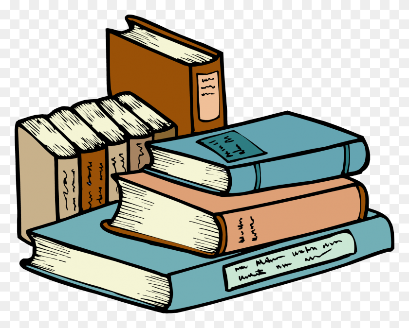 Stack Of Books Clipart - Books Images Clip Art
