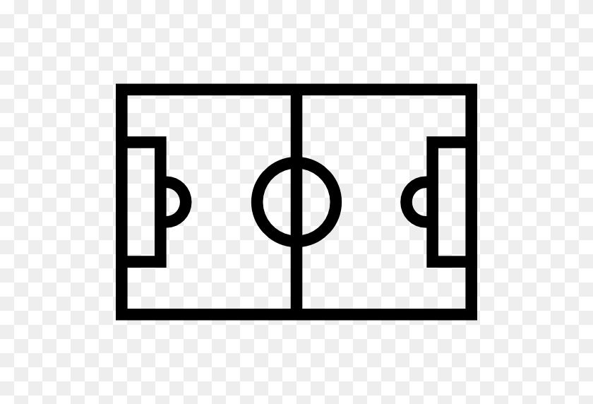 Stadium Flat Icon - Football Field PNG