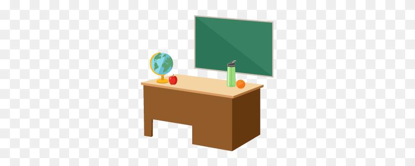Staff Role Modeling Healthy Schools Cdc - Teacher Desk Clipart
