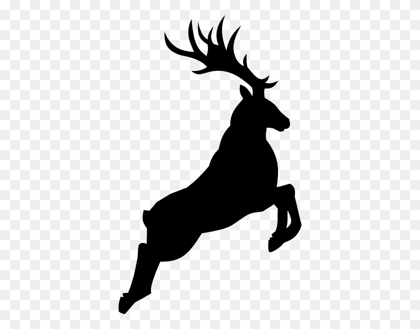 Stag Head Silhouette Moose Black Clipart - Elk Clipart Black And White