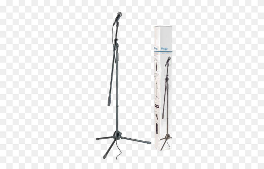 Stagg Vocal Pack Including Mic, Stand And Cable Stage Depot - Mic Stand PNG