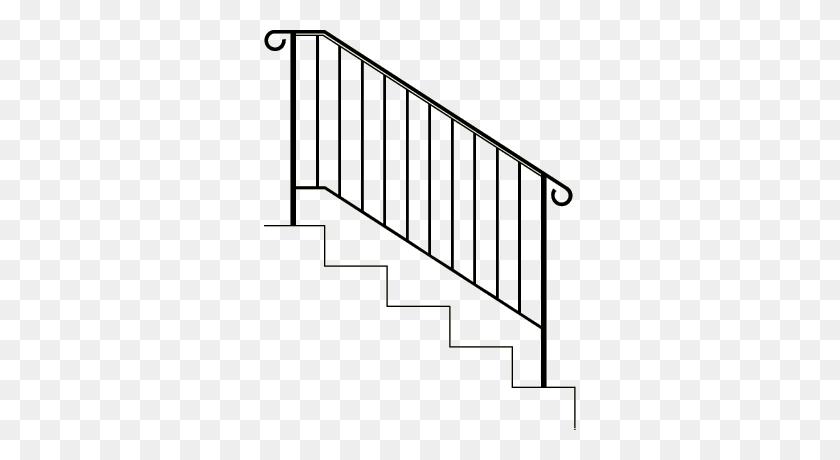 Stairs Railing Png Joe's Custom Iron - Railing PNG