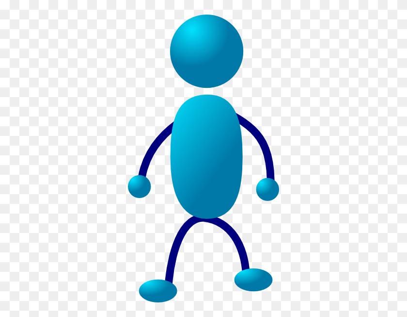 Standing Stick Man Clip Art - Person Standing Clipart
