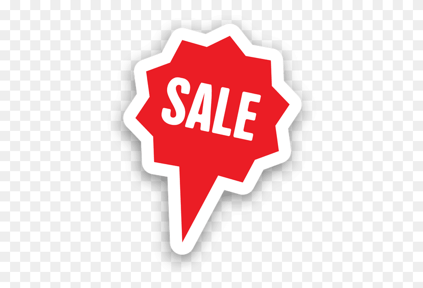 Star Bubble Sale Sticker - Sale Sticker PNG