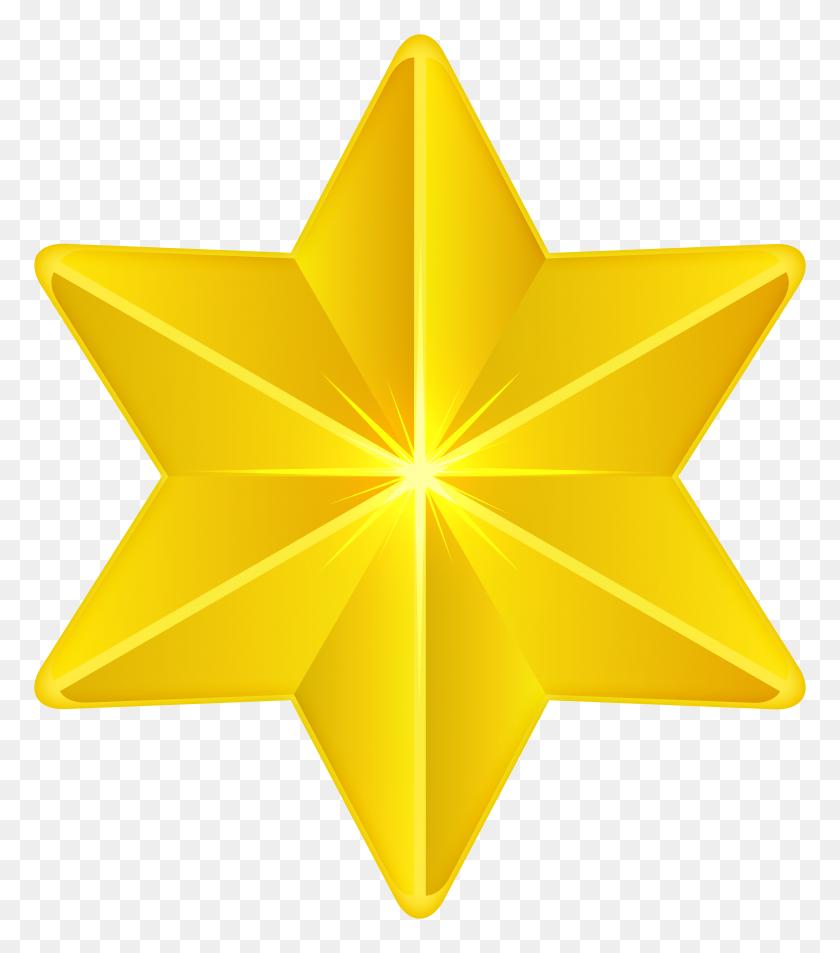 Star Decorative Png Clip Art - Origami Clipart
