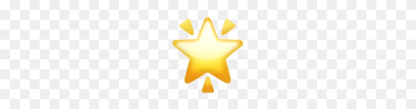 Ios Emoji Dizzy Symbol - Star Emoji PNG – Stunning free