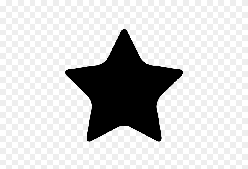 Star Sky Silhouette - Star PNG Image