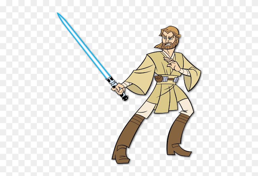 Star Wars Clone Wars Tv Fanart Fanart Tv - Obi Wan Kenobi Clipart