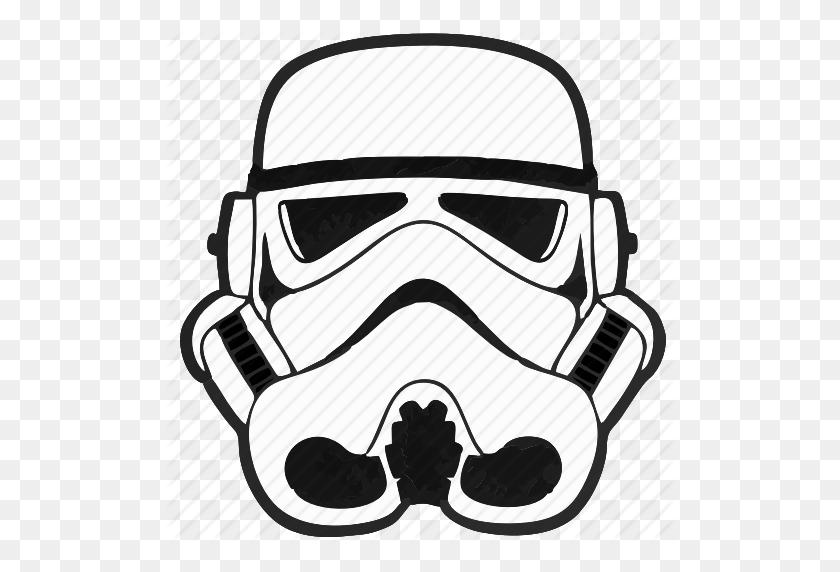 Star Wars Logo Png Transparent Image - Star Wars Clip Art Black And White  (#237539) - PikPng