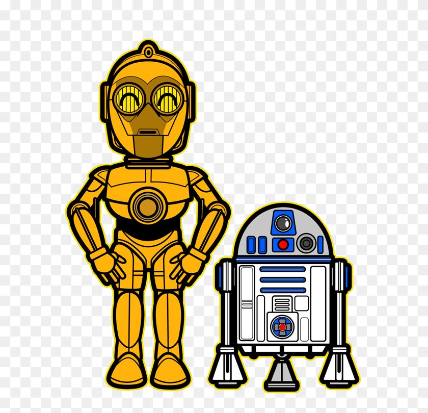 Star Wars Kawaii Saga Crafts Star Wars, Stars - Star Wars Clipart Characters