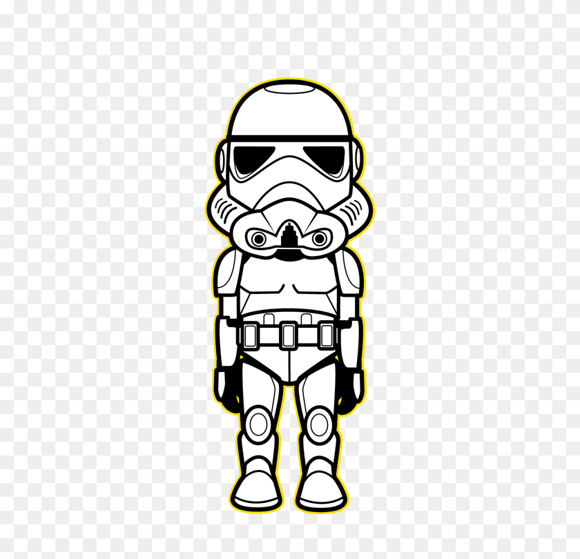 Star Wars Kawaii Saga Saga, Kawaii And Star - Star Wars Clipart Characters