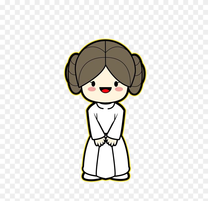 Star Wars Kawaii Saga Star Wars Star Wars, Stars - Princess Leia PNG