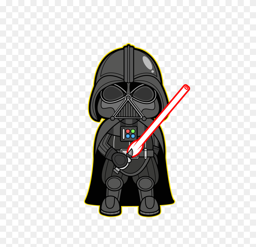 Star Wars Kawaii Saga Star Wars Star Wars, Stars, Darth Vader - Darth Vader Clip Art Free