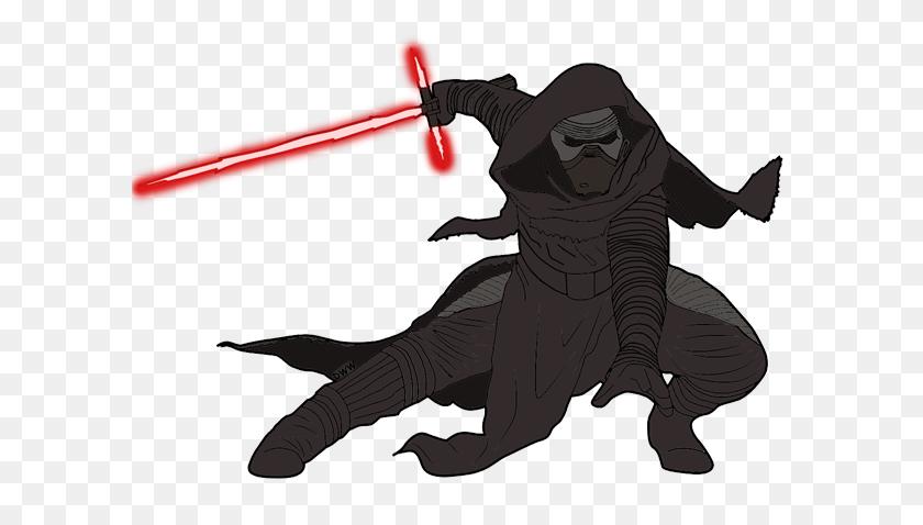 600x418 Star Wars The Force Awakens Clip Art Images Disney Galore - Saber Clipart