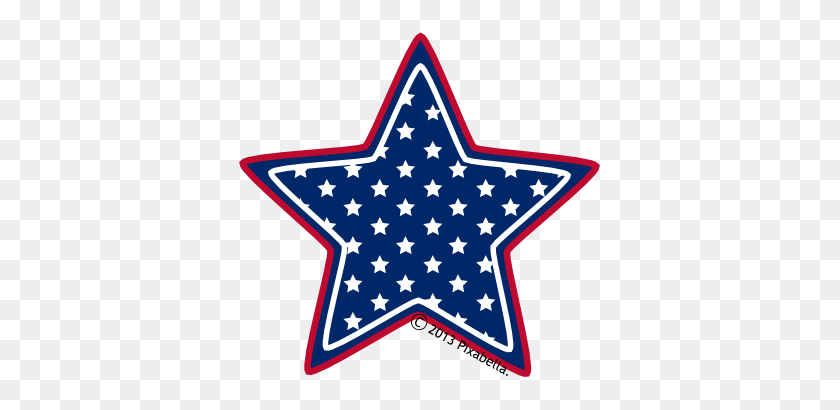 Stars Clipart Memorial Day - Memorial Day Border Clip Art