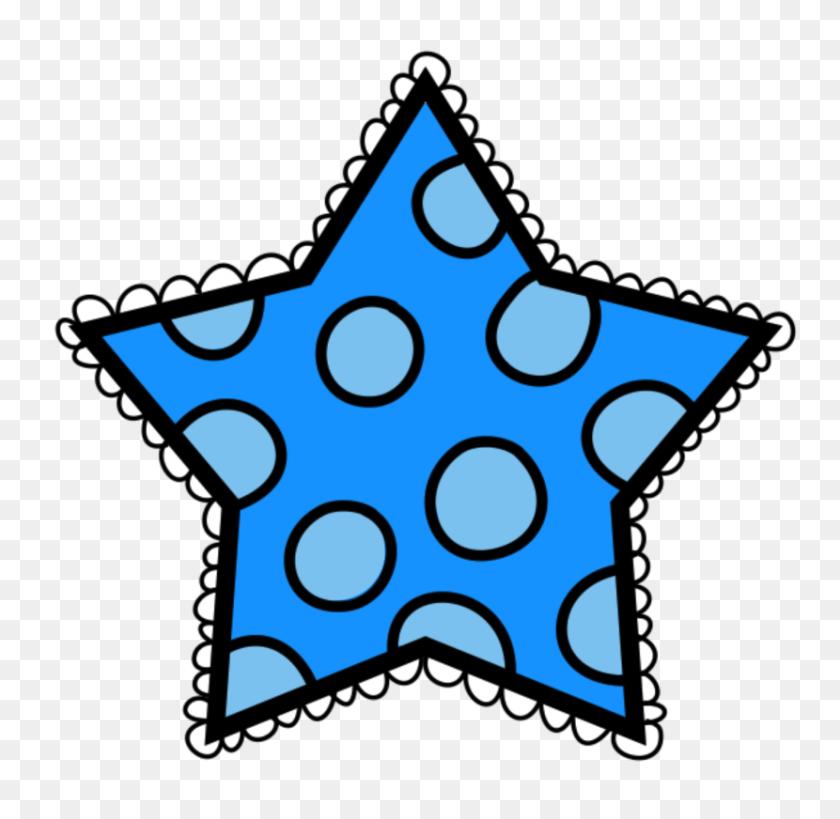 830x808 Stars Clipart Polka Dot - Melonheadz Clipart Free