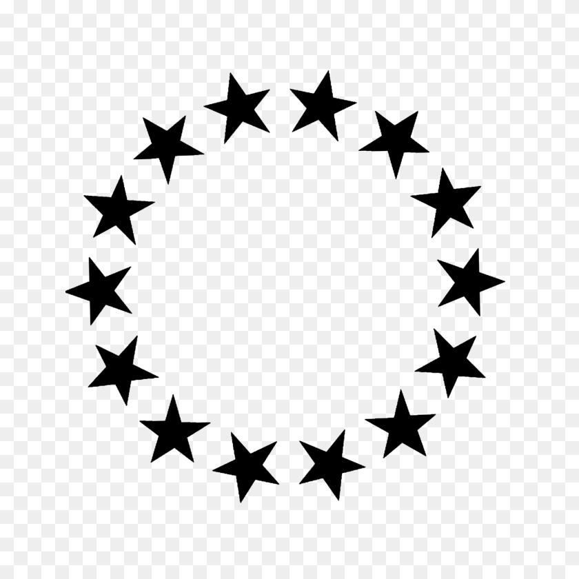 Stars Frame Border Frames Black Star - Black Stars PNG
