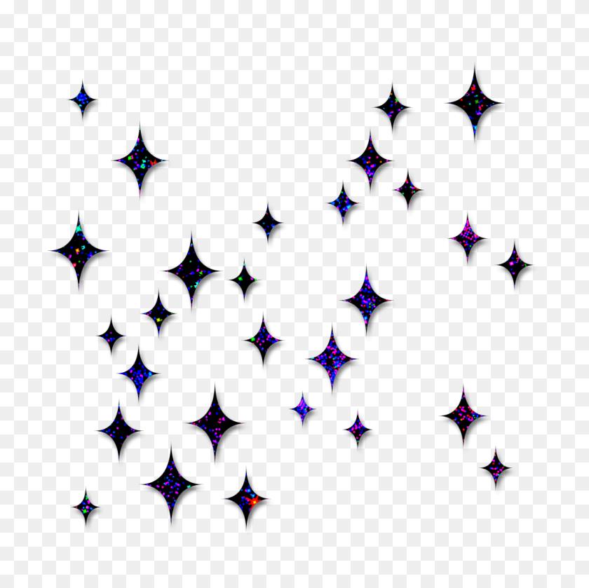 Paradise Of Elegant Editing Stars - Glitter Stars PNG