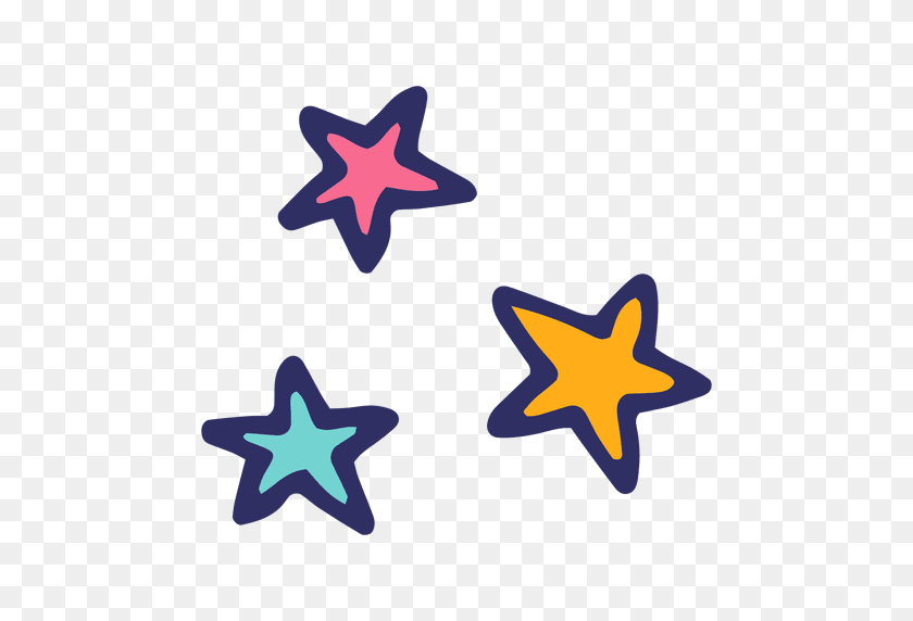 Stars Icon Cartoon - Stars PNG Transparent