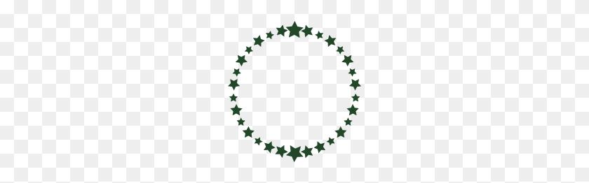 Stars, Star, Circle, Thirtieth, Thirty, Birthday - Circle Of Stars PNG