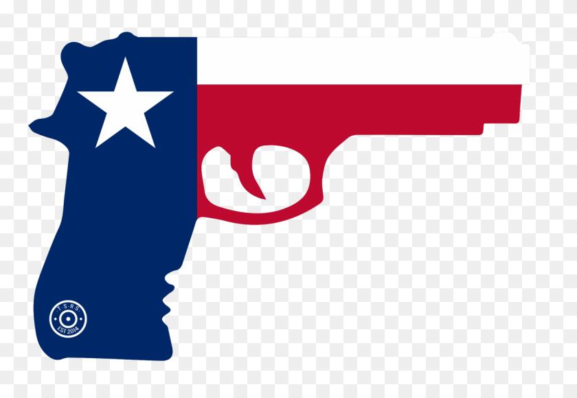 State Of Texas Gun Window Decal Amendment Sticker Swop - Texas Flag PNG