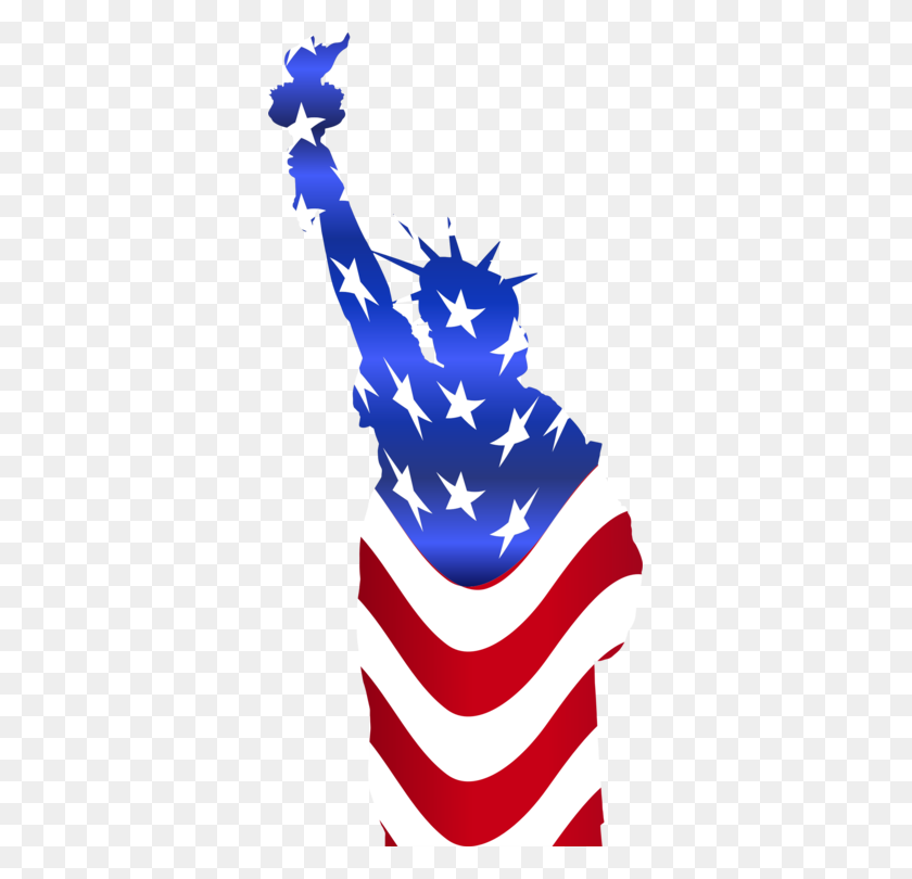 345x750 Statue Of Liberty Computer Icons Drawing Monument - Monument Clipart