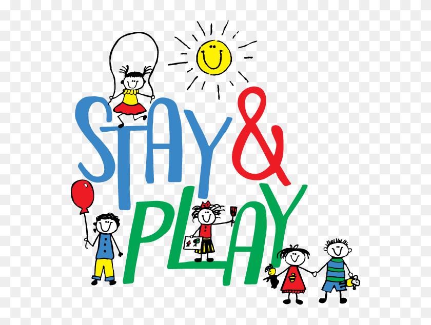 Stay Play - Funny Monday Clipart