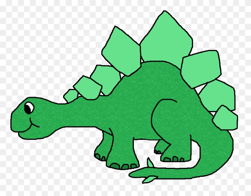 Stegosaurus Clipart Funny - Dinosaur Egg Clipart