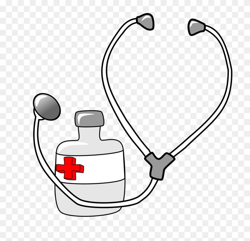 Stethoscope Medicine Nursing Physician Cardiology - Nurse Stethoscope Clipart