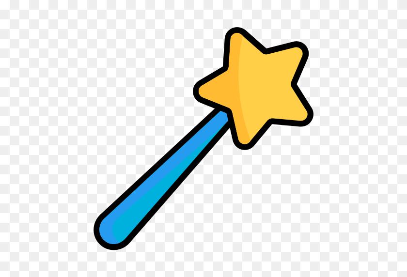 512x512 Stick, Candy, Sweet, Trick, Magician, Magic Wand, Magicwand Icon - Magic Wand Clipart